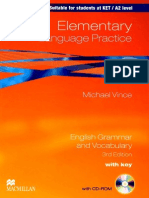 Michael Vince - Elementary Language Practice 3Ed