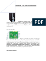 Componentes Del Cpu y Su Descripción