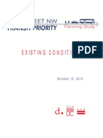 16th Street Transit Priority Planning Study -- Existing Conditions