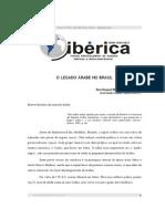 o Legado Arabe No Brasil