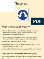 realist theories of crime