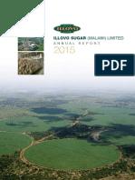 Illovo Sugar Malawi Ltd 2015 Annual Report