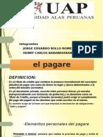 02 El Pagare, Cheque