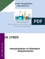 Manajemen Laboratorium Oleh Prof. Ir. Yenny Risjani DEA. Ph.D
