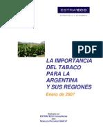 Cultivo de Tabaco en Argentina