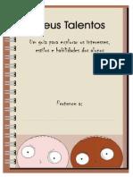 Caderno Talentos