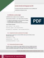 Lectura 2 - Elementos Formales Del Lenguaje Java Arreglos