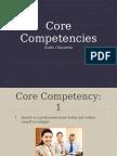 core competencies presentation  2