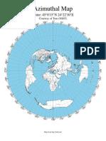 Azimuthal Map