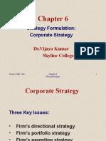 Corporate Stragey & Analysis(Chocie)