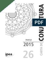IPEA_C.C.26 - A Economia Brasileira Em Momentos de Ajuste (1999,2003 e 2015)