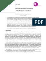 Interpretation of Data