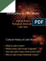 Intro to latin music