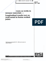 En 876-Longitudinal Tensile Test