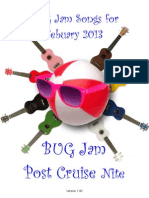 BUG Jam Song Book 2013-02