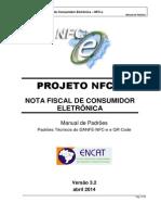 Manual de Especificacoes Tecnicas Do DANFE NFC-e QRCode Versao3.2