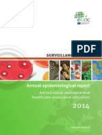 Antimicrobial Resistance Annual Epidemiological Report