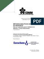 Eurachem Guia Validacion CNM MRD 030 2da Ed (1)