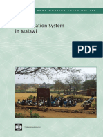 The Education System in Malawi