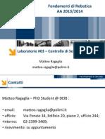 Laboratorio 03 - Controllo Di Servomeccanismi I