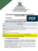 6 - Ato Convocatório para Dispensa de Licitação nº 002-2015-DCC-PMPE- Limpeza e Conservação.doc