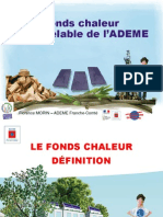 Ademe Dispostif Fonds Chaleur 2015