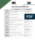 11. Calendario Cívico Escolar Socos 2014