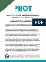 PFHT Report 10-19-2015