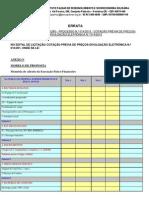 II Errata Edital de Licitação - Processo n. 012-2014 - Cotação Prévia de Preços-divulgação Eletrônica n. 012-2014