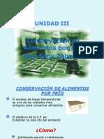 Conservación de Alimentos Por Frío ITA 2015