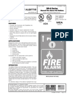 Fire-Lite BG2R Data Sheet