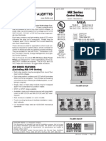Fire-Lite MR-101T Data Sheet