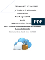 Instalación de Certificado SSL