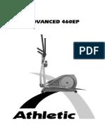 Manual Eliptico 460EP