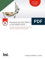 ISO 9001 Guia de Transicion