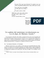 Un Analisis de Misticismo Revolucionario en Los de Abajo de Mariano Azuela