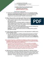 tdap school requirement qa updated 2-1-2013