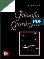 Calderon Abbo Moises - Filosofia Quirurgica