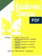 Cuadernos teoricos 11