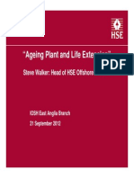 Ageing Plant and Life Extension