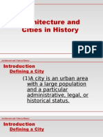 Lecture 01a CITIES