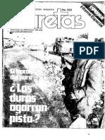 Espionaje Chileno en Perú en 1979 - Revista Caretas 553 - 15 de Enero de 1979