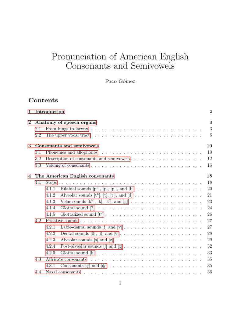 American English Consonants   Consonant   Phoneme