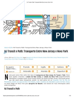 NJ Transit e Path_ Transporte Entre New Jersey e Nova York