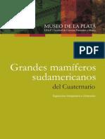 Grandes Mamíferos Sudamericanos Del Cuaternario (MLP)