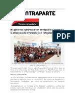 17-10-2015 Contraparte - Mi Gobierno Continuará Con El Impulso Al Turismo y La Atracción de Inversiónes en Tehuacán, RMV