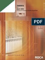 Roca Calefaccion - accesorios (radiadores, calderas, etc).pdf