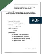 Informe Museo Nacional Sicán-Ferreñafe