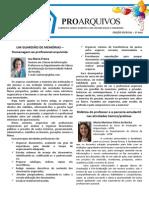 Edição Especial - Jornal ProArquivos