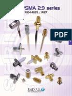 Catalogue Radiall SMA Connectors